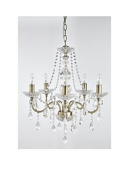 Luxe Collection Luxe Collection Alessandra 5-Light Pendant Chandelier Picture