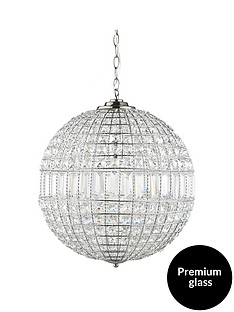 luxe-collection-solara-crystal-ball-pendant-light