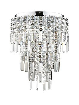 Luxe Collection Luxe Collection Filini Square-Cut 3-Tier Crystal Pendant  ... Picture
