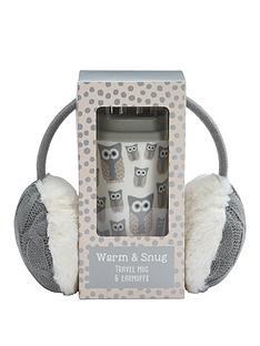snowy-owl-snowy-owl-warm-amp-snug-travel-mug-amp-ear-muff-set