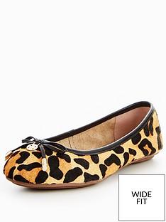 dune-hype-wide-fit-leopard-ballerina