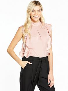 v-by-very-sleeveless-satin-front-blouse