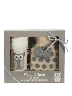 snowy-owl-warm-amp-snug-set-withnbsphot-water-bottle-socks-amp-mug