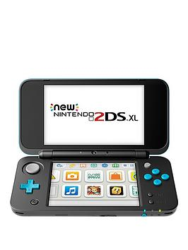 Nintendo 2Ds Xl Hw Black And Turquoise