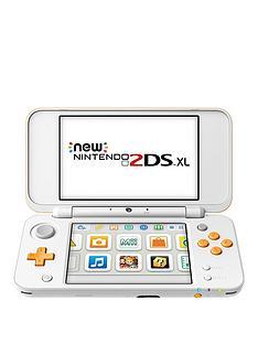 nintendo-2ds-xl-hw-handheld-console-white-and-orange