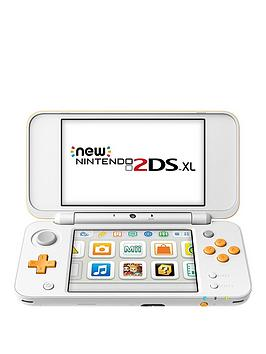 Nintendo 2Ds Xl Hw White And Orange