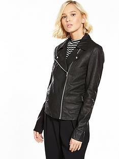 yas-sophie-leather-jacket-blacknbsp