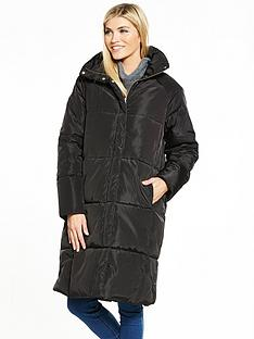 vero-moda-diva-long-jacket-black