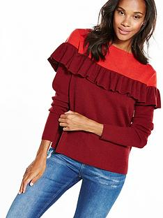 vero-moda-phoebe-knitted-jumper-red
