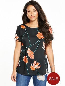 vero-moda-rose-string-short-sleeve-top