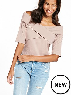 vero-moda-torinbspthree-quarter-sleeve-top--nbspsphinx