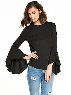 yas-vona-long-sleeve-top-black