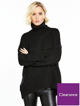 vero-moda-duarte-long-sleeve-roll-neck-jumper-black