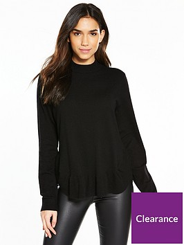 vero-moda-karis-annika-high-neck-jumper-black