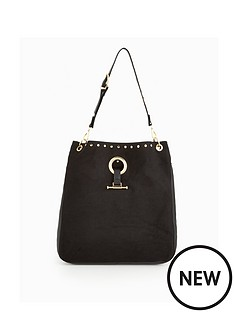 v-by-very-slouch-ring-detail-shoulder-bag