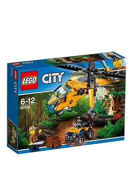 Lego City Jungle Explorers Jungle Cargo Helicopter 60158