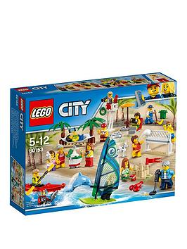 Lego City Town People Pack &Ndash Fun At The Beach 60153