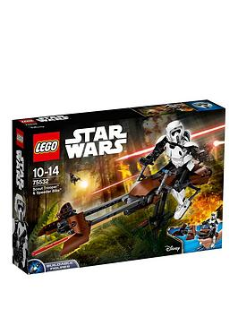 Lego Star Wars Lego Constraction Star Wars Scout Trooper&Trade &Amp Speeder Bike&Trade