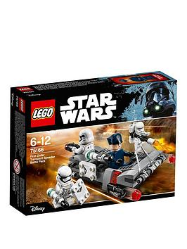 Lego Star Wars Lego Star Wars Tm First Order Transport Speeder Battle Pac