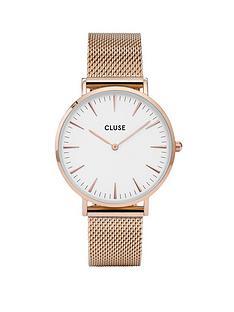 cluse-cluse-la-bohegraveme-rose-gold-mesh-strap-ladies-watch