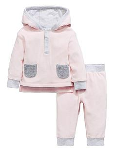 mini-v-by-very-baby-girls-hooded-velour-twosie