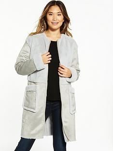 vila-becka-faux-shearling-coat