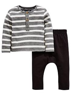 mini-v-by-very-baby-boys-stripe-button-through-top-amp-jogger-set