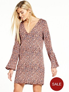vila-lashanbspthree-quarter-sleeve-dress