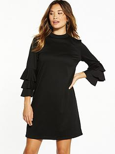 vila-ricana-long-sleeve-dress-black