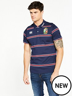 canterbury-lions-stripe-polo