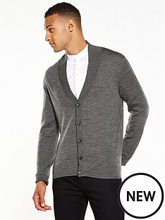 selected-homme-shawl-collar-cardigan
