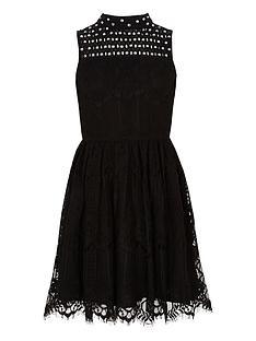 river-island-girls-black-lace-high-neck-prom-dress