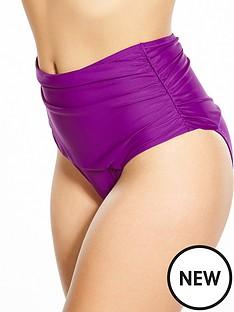 pour-moi-instaglam-high-waist-bikini-brief-purple