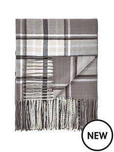 cascade-home-henley-soft-check-throw