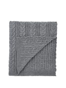 Cascade Home Cascade Home Chunky Knit Throw Picture