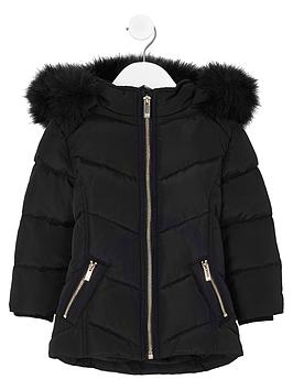 river-island-mini-girls-black-faux-fur-trim-padded-coat