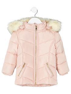 river-island-mini-girls-pink-faux-fur-trim-padded-coat