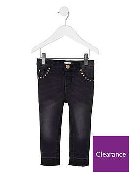 river-island-mini-girls-black-studded-amelie-skinny-jeans