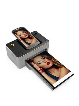 Kodak Photo Printer Dock For Android With Wifi  Photo Printer Dock With Cartridge 80 Pack