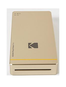 Kodak Photo Printer Mini  Gold  Photo Printer Mini With Cartridge 30 Pack