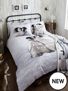 catherine-lansfield-snuggly-penguin-100-cotton-duvet-cover-set