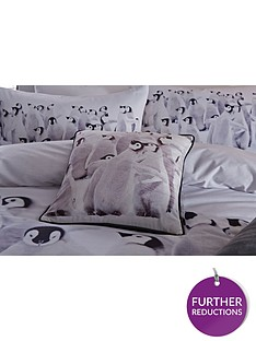 catherine-lansfield-snuggly-penguin-christmas-cushion