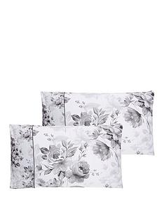 dorma-watery-rose-100-cotton-300-thread-count-housewife-pillowcase-pair