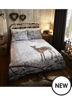 catherine-lansfield-woodland-deer-duvet-cover-set