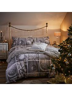 catherine-lansfield-christmas-greeting-cotton-rich-duvet-cover-set