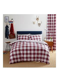 catherine-lansfield-henley-check-duvet-cover-set