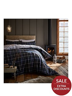 catherine-lansfield-tartan-100-brushed-cotton-duvet-cover-set