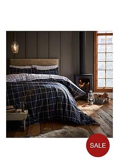 catherine-lansfield-tartan-100-brushed-cotton-duvet-cover-set
