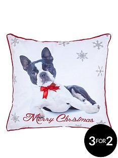 catherine-lansfield-christmas-dog-cushion