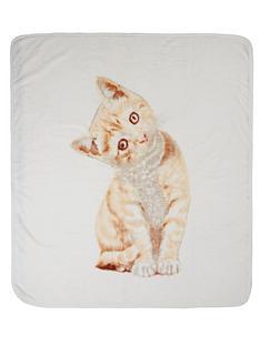 catherine-lansfield-kitten-throw